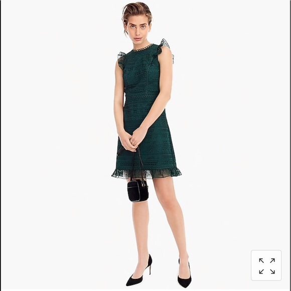 3c1dc787003 J. Crew Dresses   Skirts - J. Crew cap sleeve ruffle dress in mixed